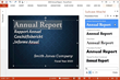 Suitcase Attaché - Microsoft PowerPoint Report Example
