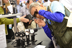 A record number of registered attendees at this year's SPIE Photonics West got a close-up look at the latest in research, equipment, and systems, as well as a front-row seat on visions for the future.