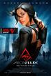 Rosario Dawson as Aeon Flux - Black Superheroes Re-imagined check out more from digital artist and graphic designer Alijah Villian at http://alijahvillian.com