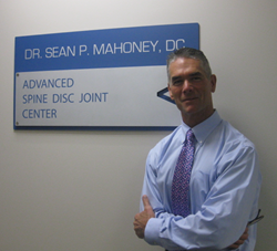 Dr Sean Mahoney, runners' injury specialist