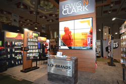 LCI Brands Trade Show Booth