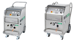 Image of IceTech new line of dry ice blasting equipment. IceTech is a leading manufacturer of dry ice blasting and dry ice production equipment.