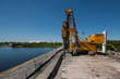 Hayward Baker Inc. performed TRD work on the north and south sides of the Lake Manatee Dam project in Tampa, Fla.  The project was completed in early 2015.