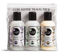 curl keeper, curly hair solutions, travel