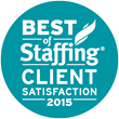 Best of Staffing Client Satisfaction 2015