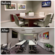 Meeting Room Before & After