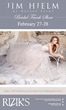 Come to Rizik's for Two Great February Bridal Trunk Shows; Rizik's Comes to You at Engaged Bridal Event March 1 at the Willard Hotel