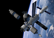 Shackleton Energy Space Infrastructure in Orbit