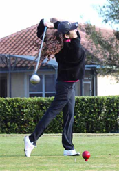 Ariela Wagner, founder of SunRay Construction Solutions Wins Long Drive