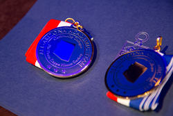 2015 All-Arizona Academic Team medals.