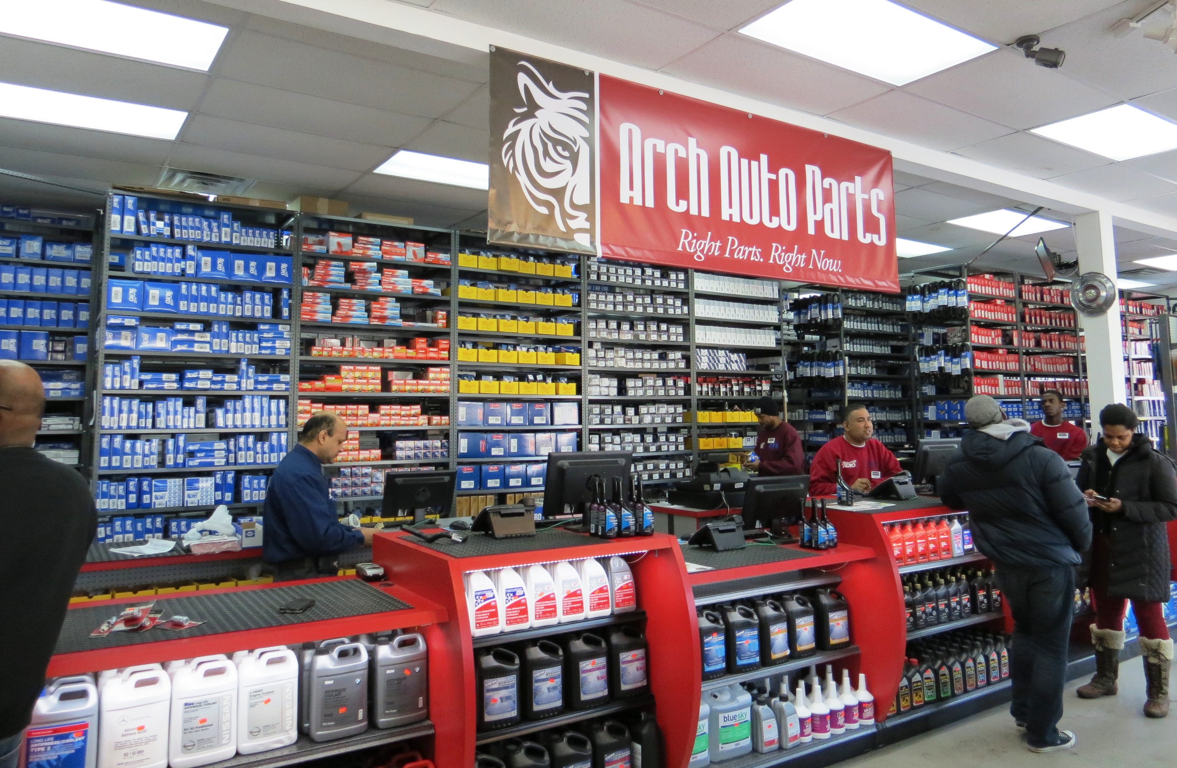 Auto Parts Shop >> New Arch Auto Parts Store In Queens Ny Provides Exact