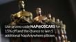 Nap Like a Celebrity with NapAnywhere's Oscars® Giveaway...