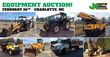 Public Car and Equipment Auction, Charlotte, NC, February 26, 2015