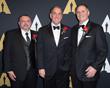 Michael Fecik (left), Steven Tiffen (center) and Jeff Cohen (right)