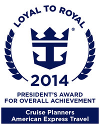 Cruise Planners Earns Royal Caribbean International's President's Award for Overall Achievement