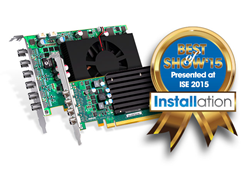 Matrox C-Series Wins Best of Show ISE 2015