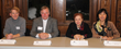 (From left to right): The Manhattanville School of Business's Nonprofit Certificate faculty members Will Nolan, Ken Koprowski, Donna Rosenthal, and Mona Lau.