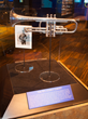The father of the blues, WC Handy's cornet is just one of the artifacts that can be seen at the Gateway to the Blues Museum located on Highway 61, the blues highway, in Tunica, Mississippi.