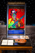 Robert Johnson installation with art by George Hunt at the Gateway to the Blues Museum