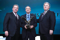 Steve Siegel was inducted into the IFA Hall of Fame