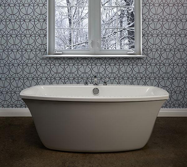 Jacuzzi Luxury Bath Introduces Primo 174 Freestanding Bathtub
