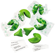 St. Patrick's Day Fortune Cookies from Gaggifts.com