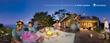 The ad campaign utilizes unique 360-degree vacation imagery