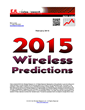 EJL Wireless Research Announces its 2015 Predictions for Wireless RAN...