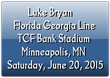 Luke Bryan & Florida Georgia Line Tickets in Minneapolis at TCF...