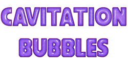 Cavitation Bubbles Game Logo