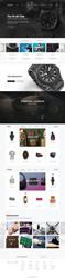 NIxon.com eCommerce Home Page