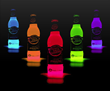 Cool Glow Bottle Collars from Glowsource.com