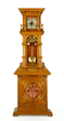 Rare Polyphon cylinder music box and tall clock