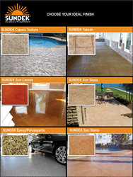 Sundek Products Concrete Finishes