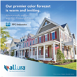Allura's ColorMax® Clad Coating Features PPG Paint Technology