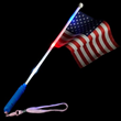 Flashing American Flag Wand from Stupid.com