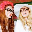 The Girls with Glasses—Summer Bellessa and Brooke White