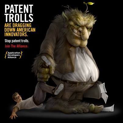 patent trolls Us patent policy has collapsed at the hands of a supreme court preoccupied with patent trolls, who were not present in a single dispute they were asked to adjudicate the us increasingly .