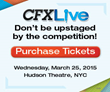 Cablefax Announces CFX Live - March 25 in New York City