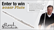 Enter to win a Ravel by Gemeinhardt 202SP Flute from Cascio Interstate Music at http://www.interstatemusic.com/Contest/118-Enter-to-win-a-Ravel-by-Gemeinhardt-202SP-Flute.aspx