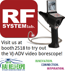 RF System Lab to exhibit at HAI Heli-Expo
