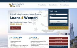Independence Bank Website