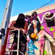Kate Moss gets street art love form TMNK
