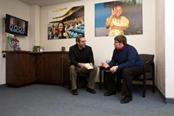 Rob Myers of DOOR Int. & JR Bucklew of Deaf Bible