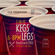 """Geary LSF to Host AD2SF """"Kegs With Legs"""" Event in San Francisco"""