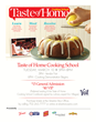Taste of Home Magazine Hosts Cooking School Demonstrations
