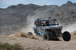 #1913 Branden Sims put together a flawless run in the Walker Evans Desert Championship to walk away the win and the grand prize package including a brand new Polaris RZR!