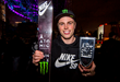 Monster Energy's Gus Kenworthy Takes First Place in the Ski Competition at Shaun White's Air + Style  event.