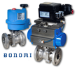 New Bonomi V-Ball Split-Body ANSI 150 Flanged Valves Provide Precise Flow Control in Demanding Applications