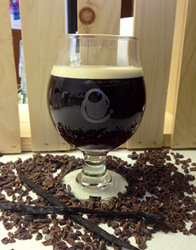 Cocoa Nib Nitro Cold Brew Coffee from Crimson Cup Coffee & Tea